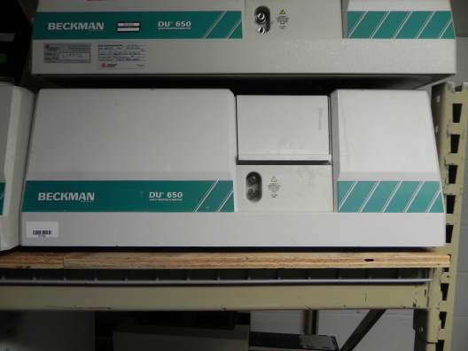 Beckman Coulter DU 650 Spectrophotometer UV/Vis Reader