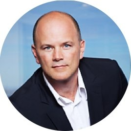 photo of cryptocurrency expert Mike Novogratz