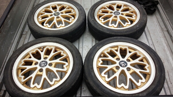 Sakura Wheels 4x100 15x5.5+45