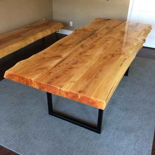 Italian Cypress Dining Table Big T S Hardwood Outlet