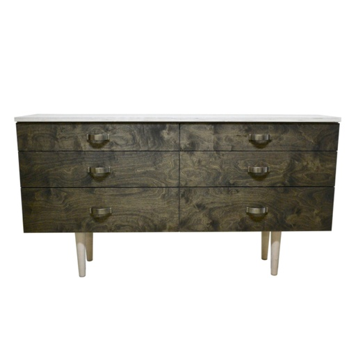 Chest of six drawers nuotrauka