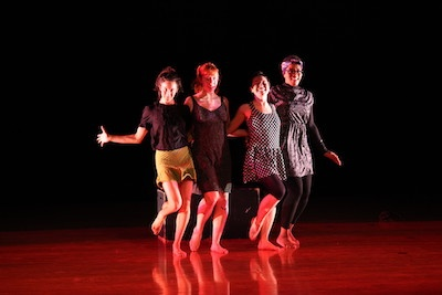 A dance piece performed by a group of students
