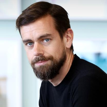 a photo of crypto expert reviewer Jack Dorsey