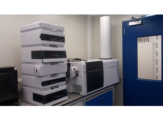 Agilent 6530 QTOF with 1260 Infinity Bioinert HPLC LC/MS System