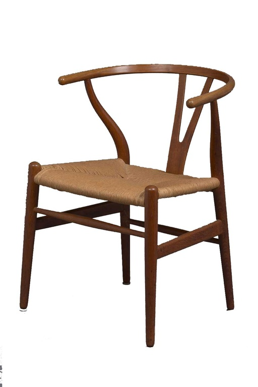 Set of Four Wishbone Chairs by Hans Wegner