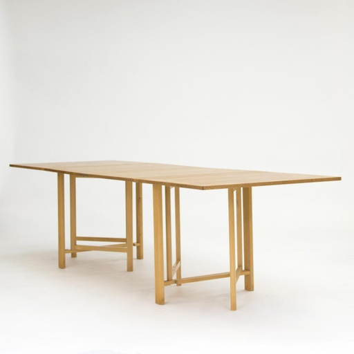Maria Dining Table in Flame Birch by Bruno Mathsson for Karl Mathsson