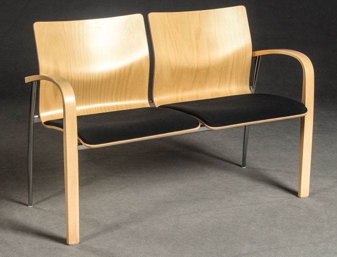 Two Seat Bench by Brunner Zweisitzer