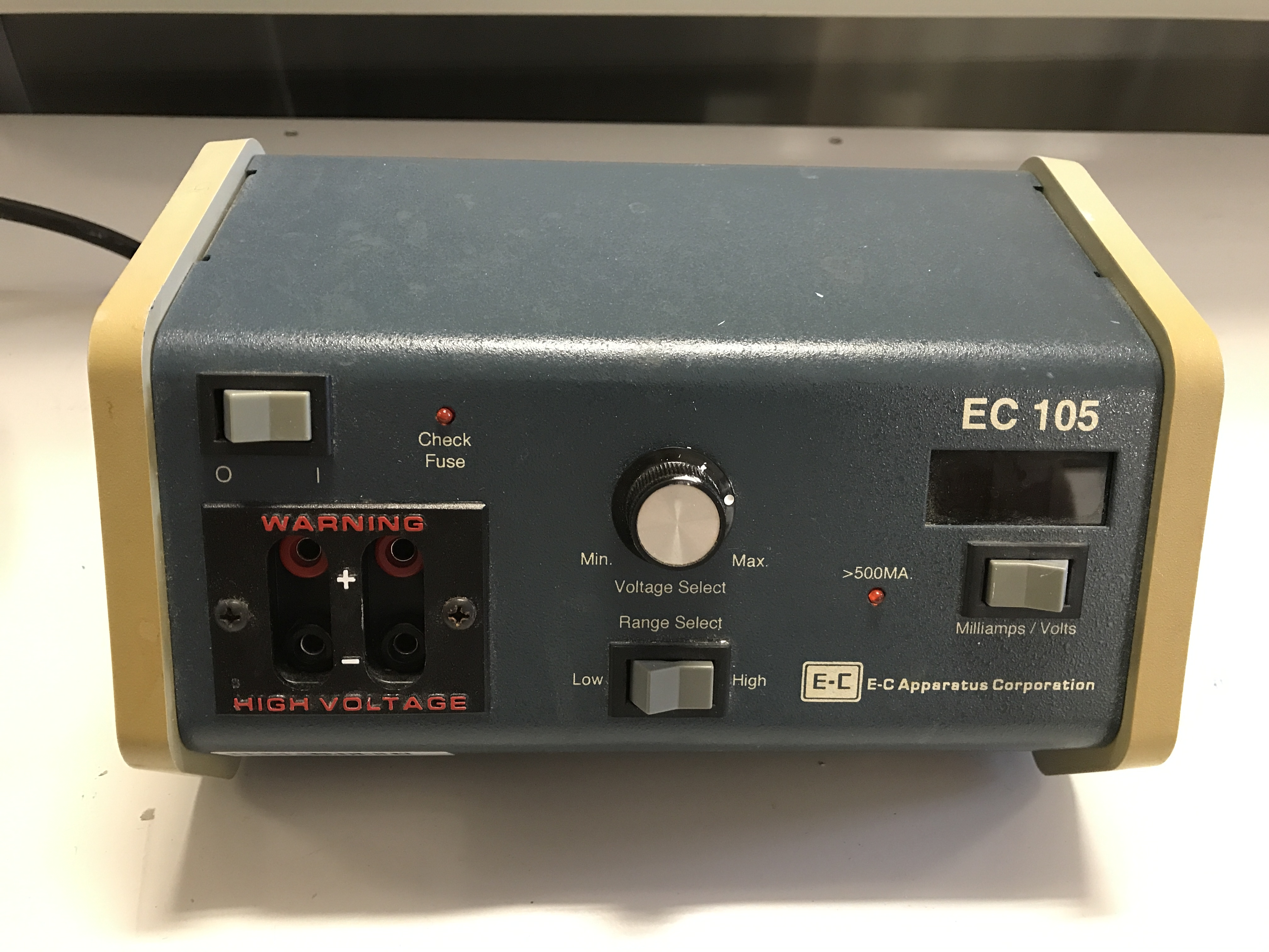 EC Apparatus EC105 Electrophoresis Power Supply
