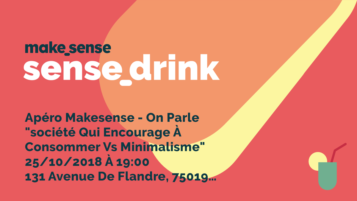 Image of the event : Apéro makesense - on parle