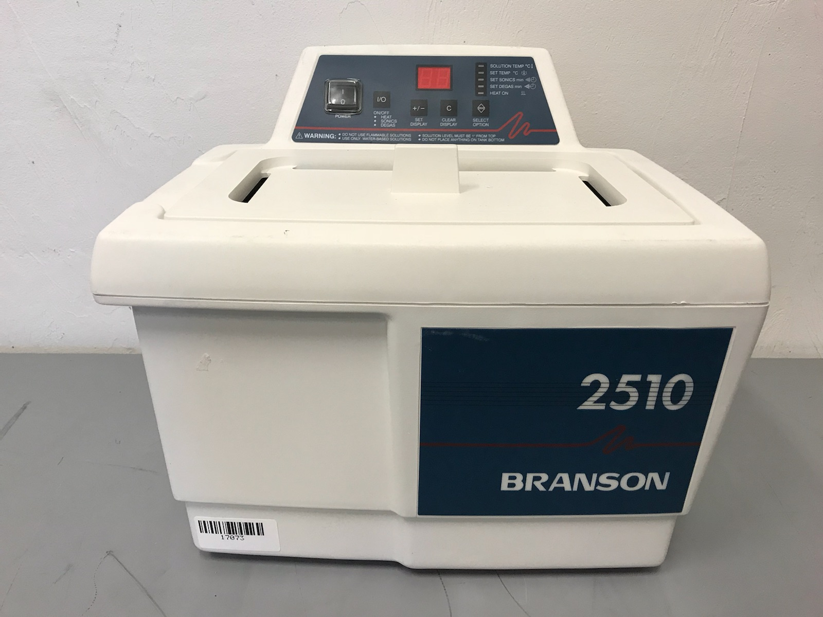 Branson 2510R-MTH Ultrasonic Cleaner