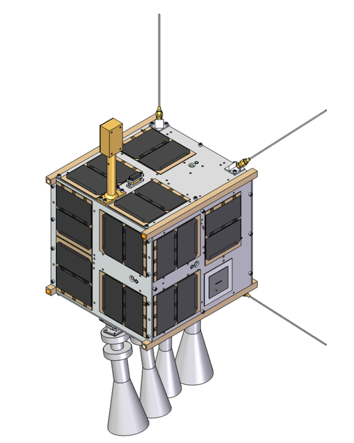 Antarctic Nanosatellite