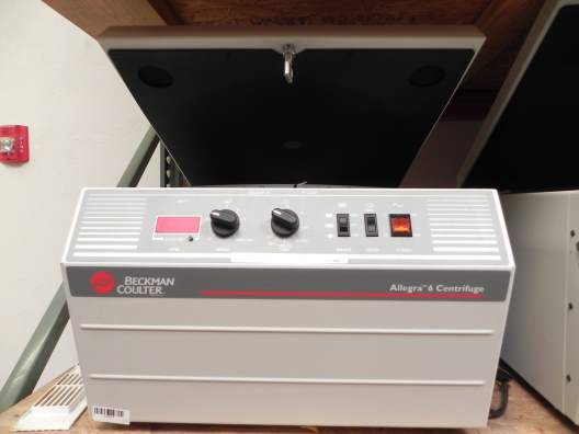 Beckman Coulter Allegra 6 Benchtop Refrigerated Centrifuge
