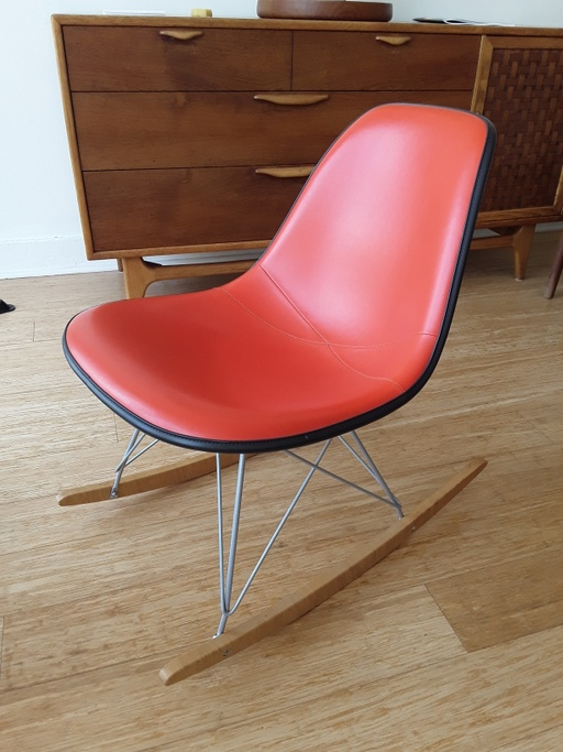 Low Armless Shell Rocker by Eames for Herman Miller