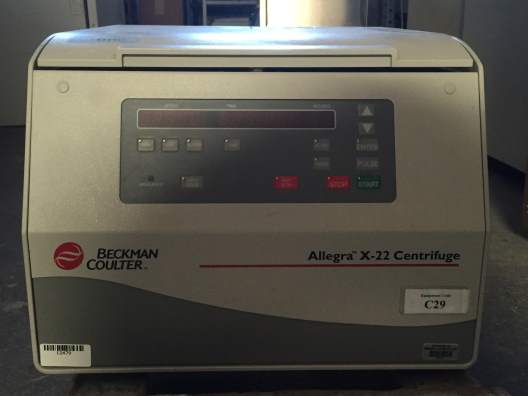 Beckman Coulter Allegra X-22 Benchtop Centrifuge