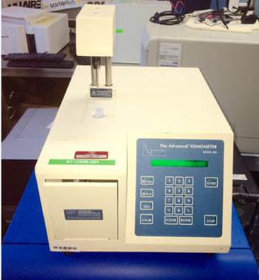 Advanced Instruments 3D3 Osmometer