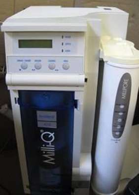 Millipore Milli-Q Gradient A10 Water Purification