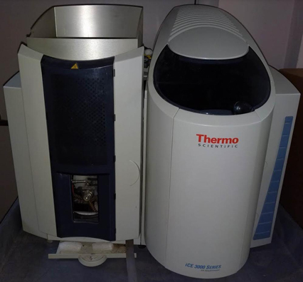 Thermo Forma iCE 3300 Double-Beam AA Spectrometer with 50mm Universal Burner  Atomic Absorption Spectrophotometer