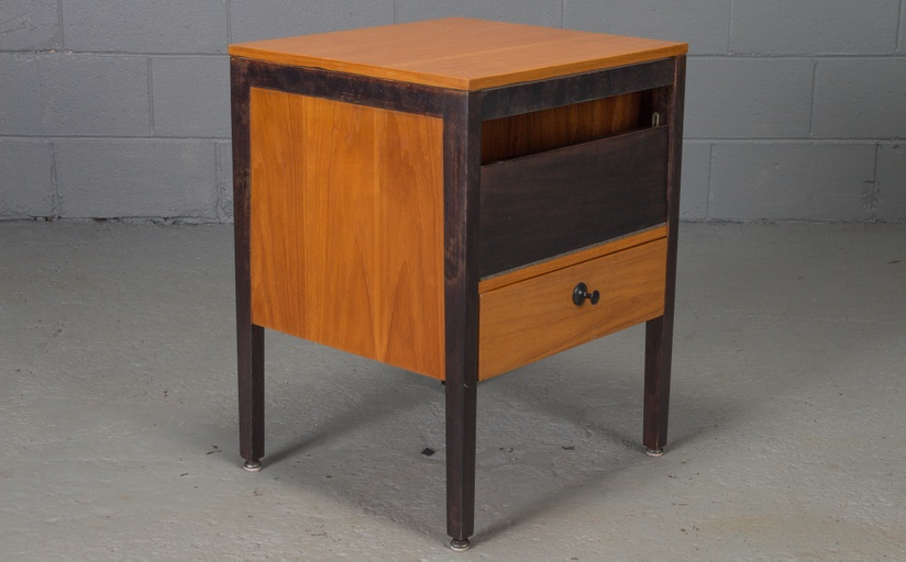 Small Steelframe Stereo Cabinet Side Table by George Nelson for Herman Miller