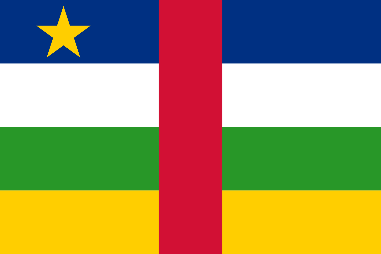 Central African Flag
