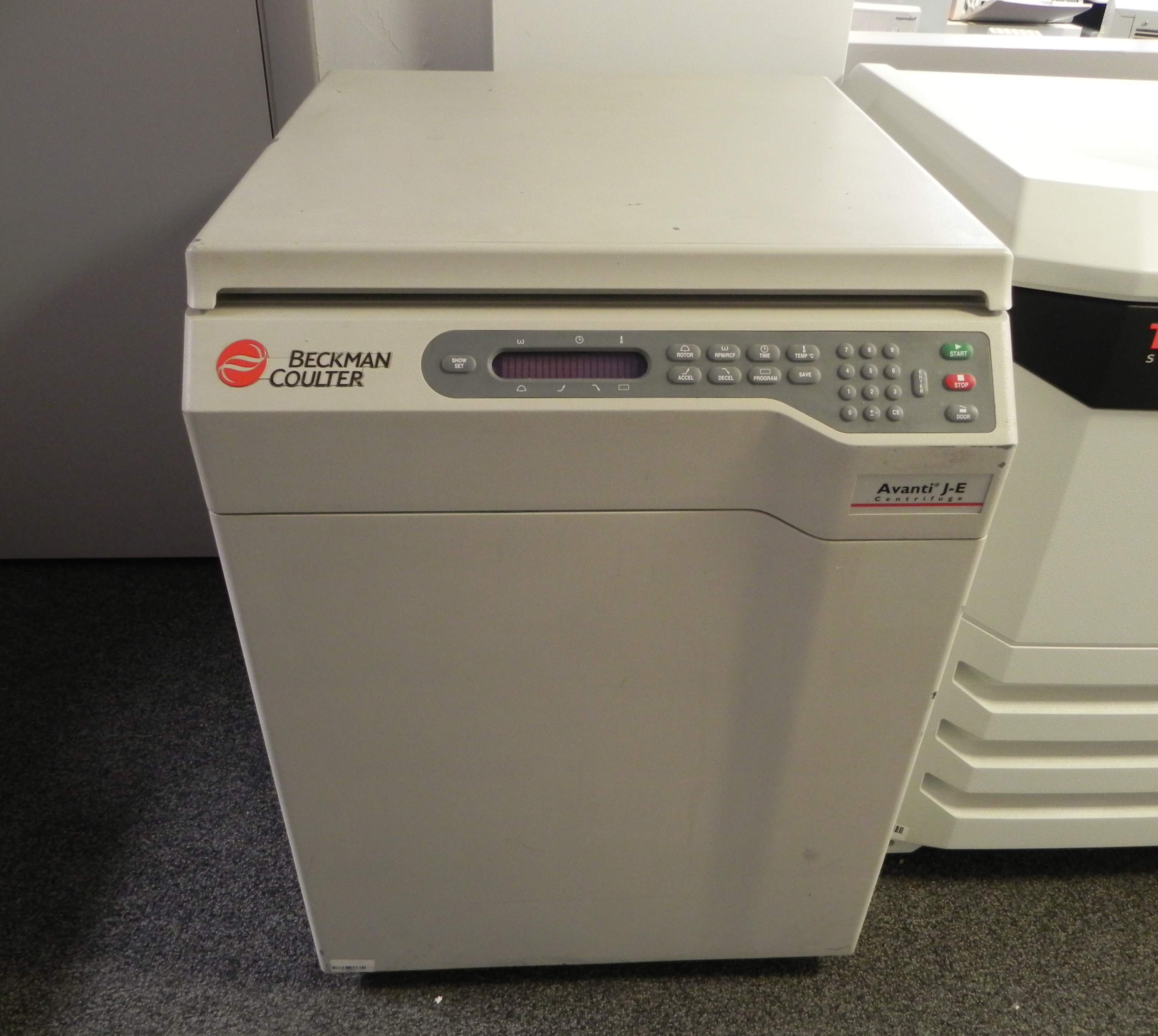 Beckman Coulter Avanti J-E Floor Super Speed Centrifuge