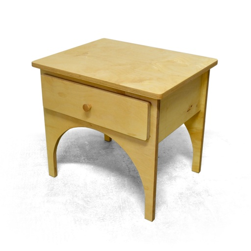 Bed table with drawer nuotrauka