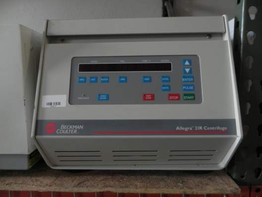 Beckman Scientific Inc. Allegra 21R Benchtop Centrifuge