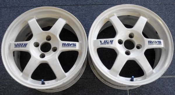 Rays Engineering TE37 16x8+46 4x100 (Pair)