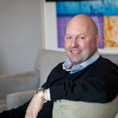 a photo of crypto expert reviewer Marc Andreessen