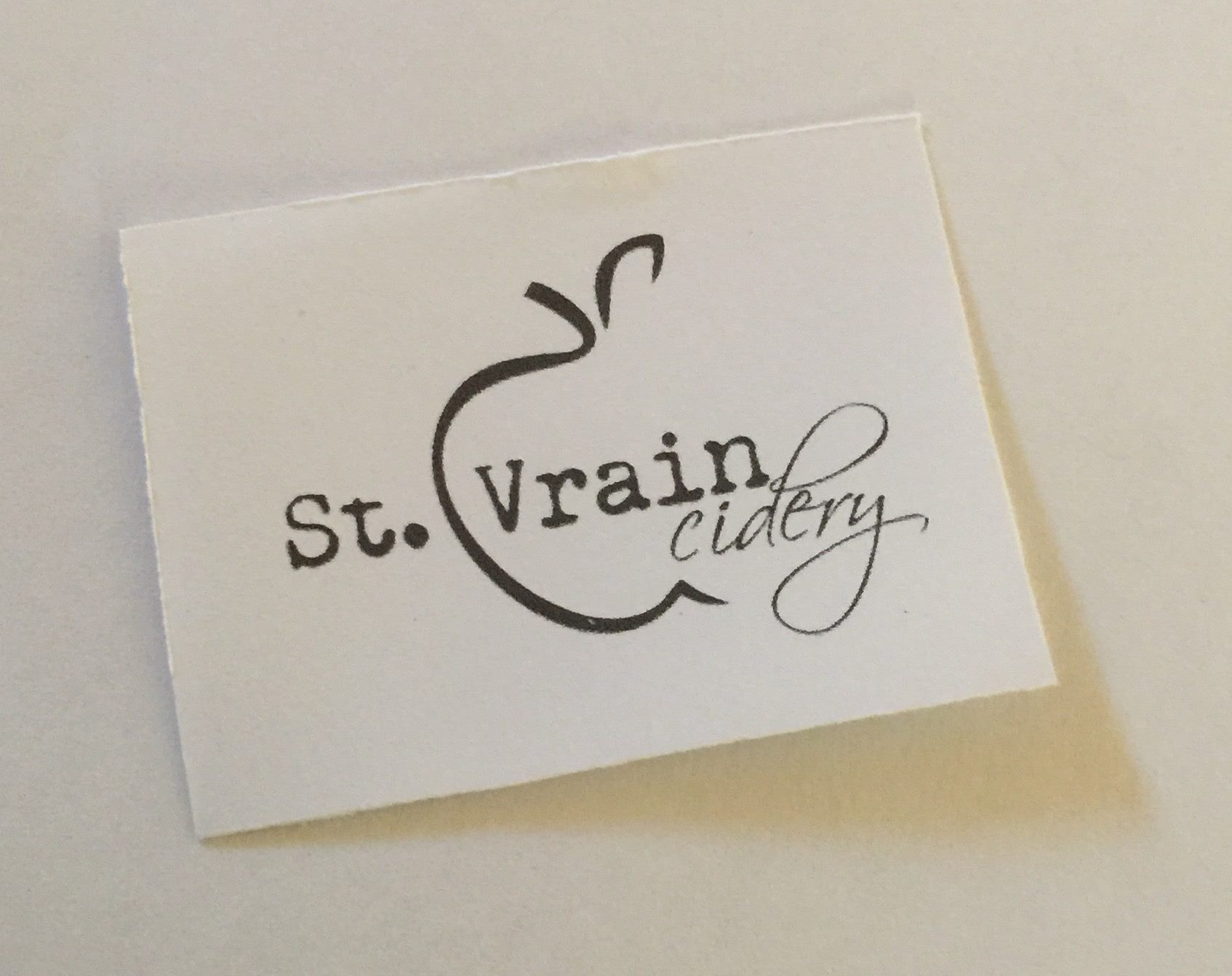St. Vrain Cidery logo