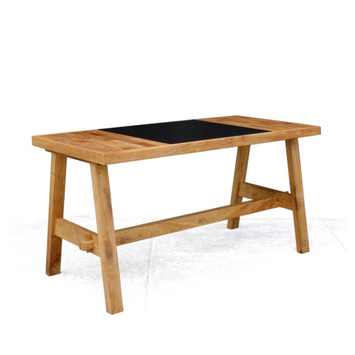 Reclaimed Oak Writing Desk nuotrauka
