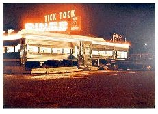 """Tick Tock Diner"" Signed Limited Edition Lithograph by John Baeder"
