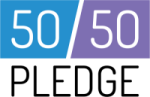 Logo of 50/50 Pledge