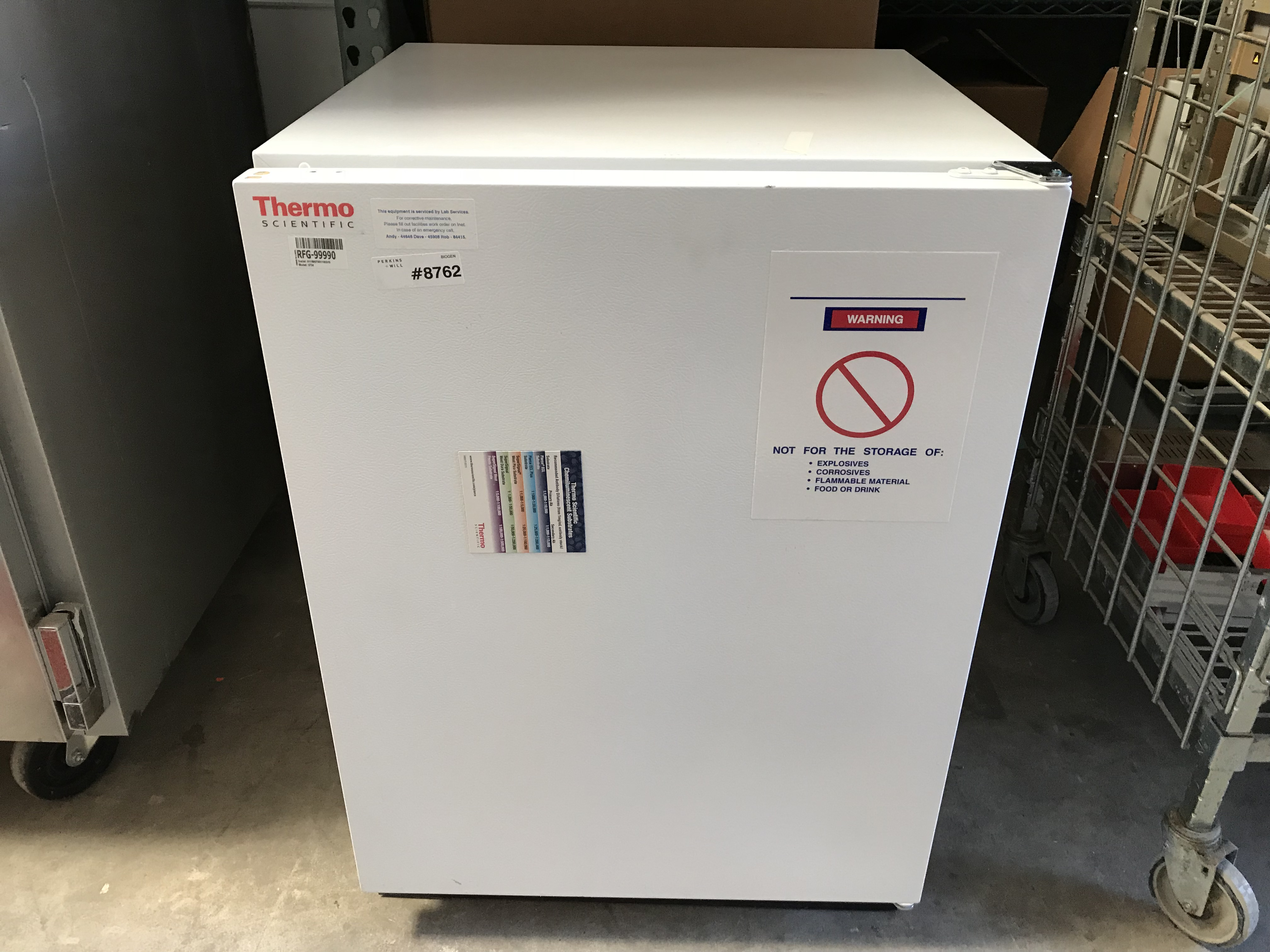 Thermo Scientific 3754 Undercounter Refrigerator