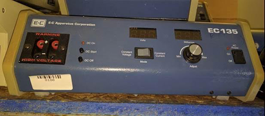 E-C Apparatus Corp EC 135 Electrophoresis Power Supply