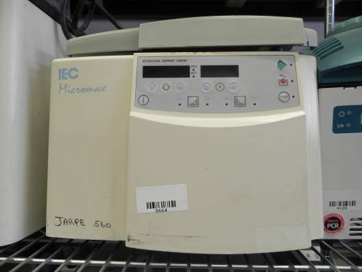 Thermo IEC Micromax RF Refrigerated Microcentrifuge