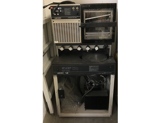 Labconco 7753010/S1150601 Freeze Dryer w/ Stoppering