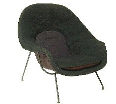 Early Womb Chair by Eero Saarinen for Knoll