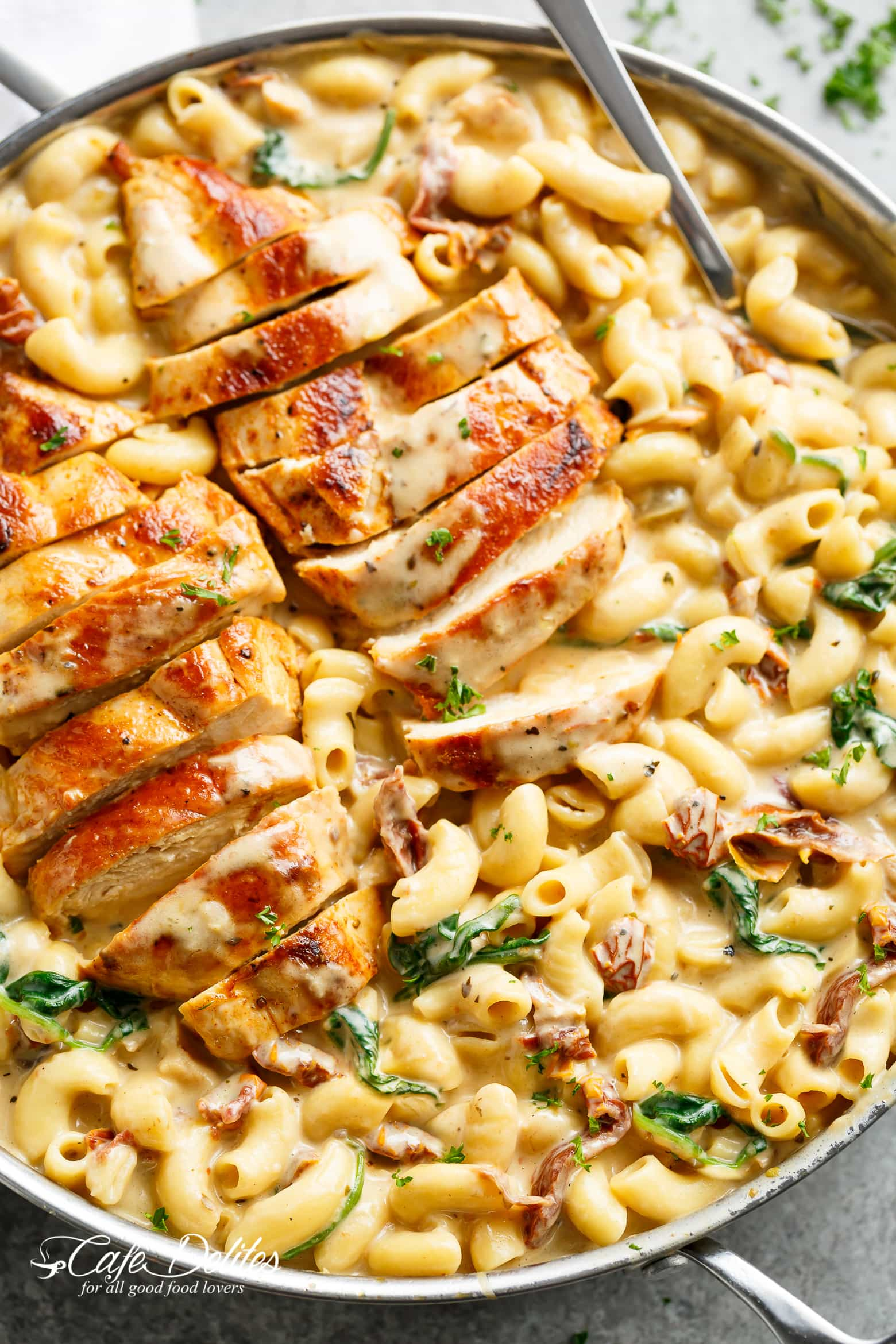 Image of Tuscan Chicken Mac And Cheese