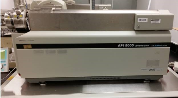 AB Sciex API 5000 LC/MS/MS Mass Spectrometer w/ Agilent 1100 HPLC and CTC Autosampler LC/MS/MS  System