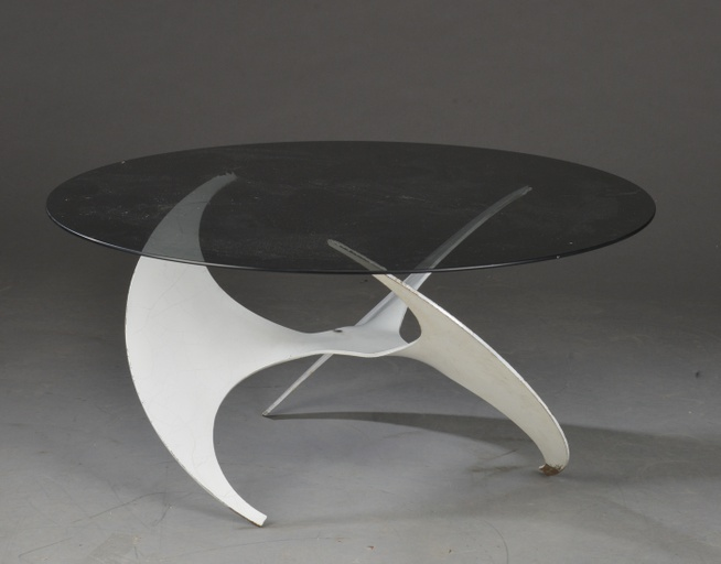 'Model Propeller' Coffee table by Knut Hesterberg