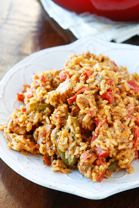 Image of Cajun Chicken and Rice