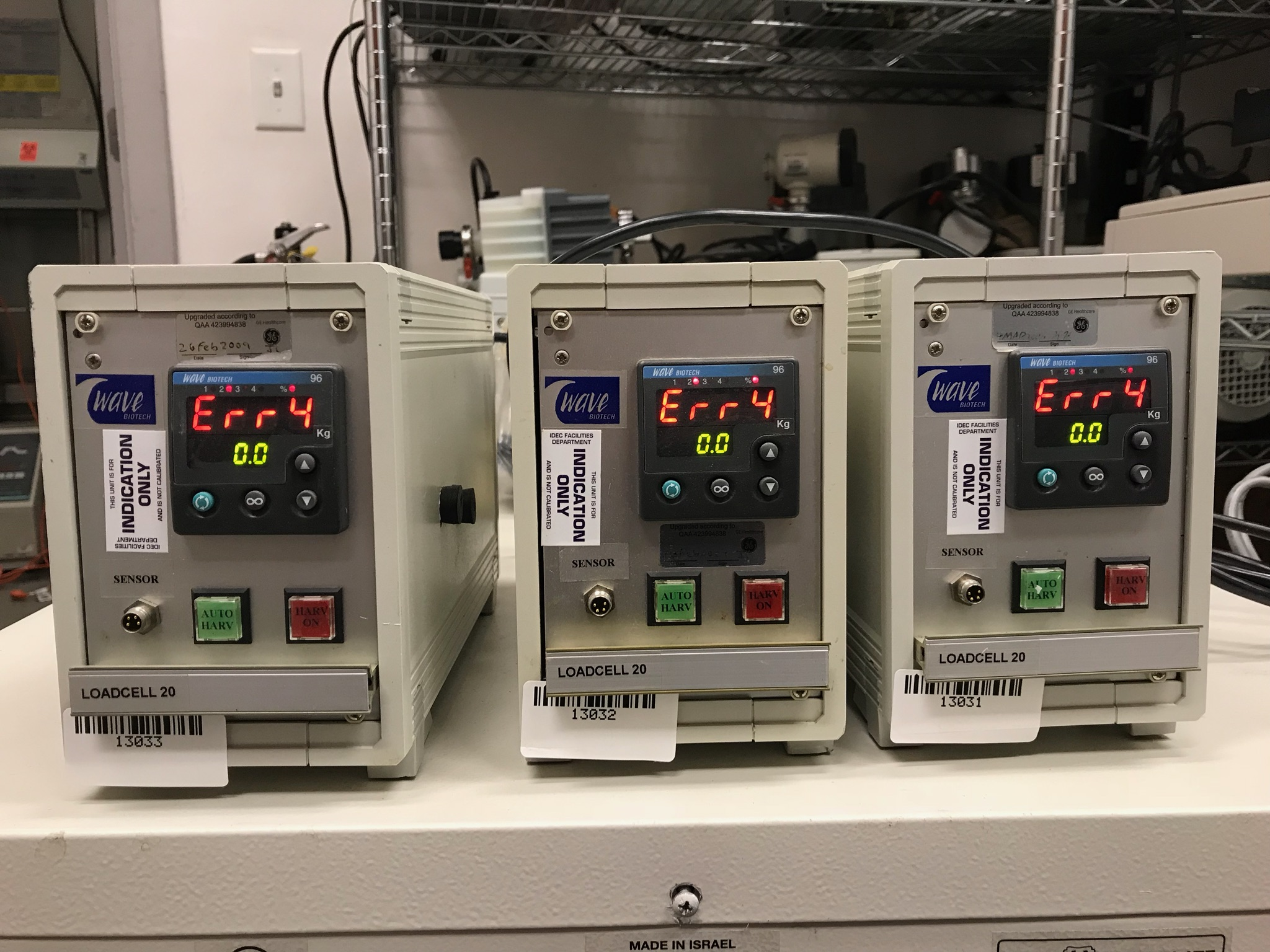 Wave Biotech LoadCell Controller LoadCell Controller
