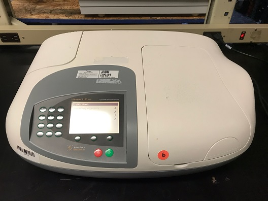 Amersham Biosciences GE Ultrospec 2100 Pro Spectrophotometer UV/Vis Reader
