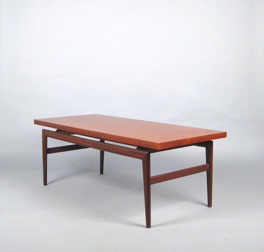 1960s Large Danish Modern Coffee Table