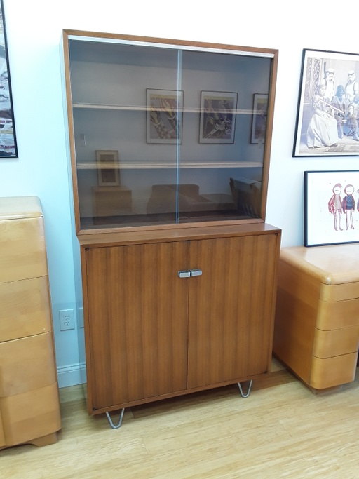 Cabinet Hutch with Hairpin Legs by George Nelson for Herman Miller