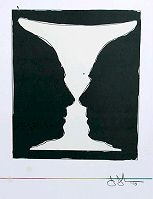 """Cup 2 Picasso"" Signed Limited Edition Lithograph by Jasper Johns"