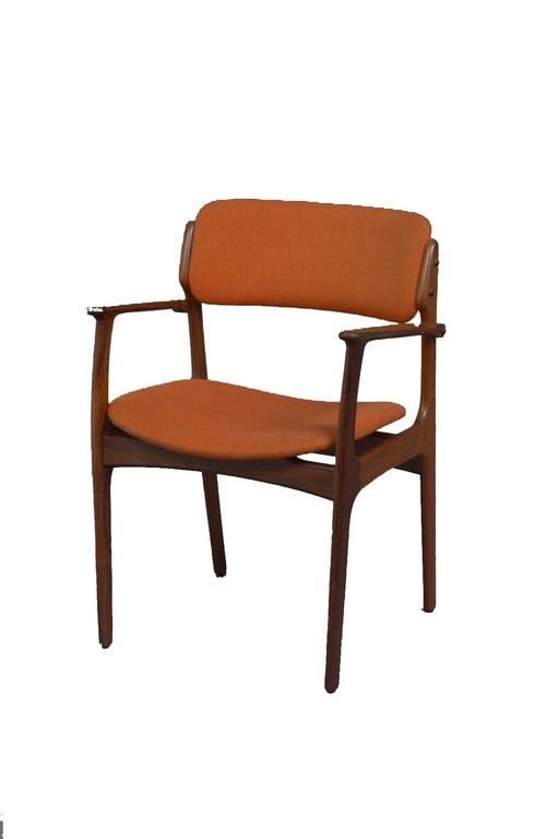 Rosewood Armchair Model 49 by Erik Buck for OD Møbler