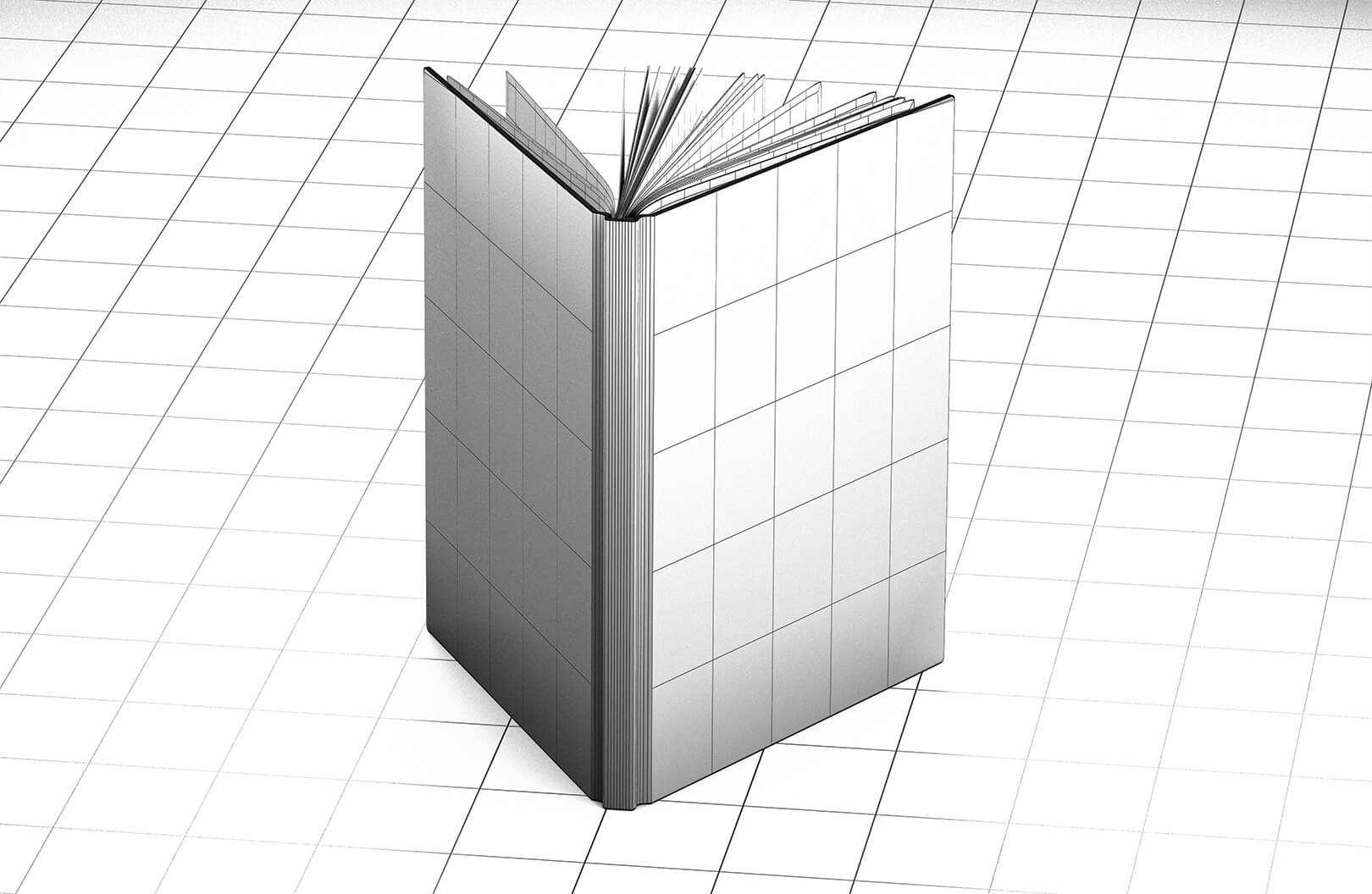 American Crew Book Wireframe