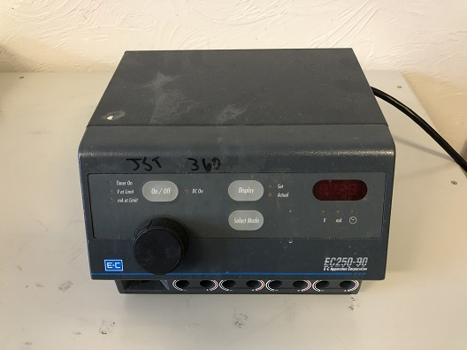E-C Apparatus Corp EC250-90 Electrophoresis Power Supply