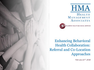 Enhancing Behavioral Health Collaboration: Referral and Co-Location Approaches